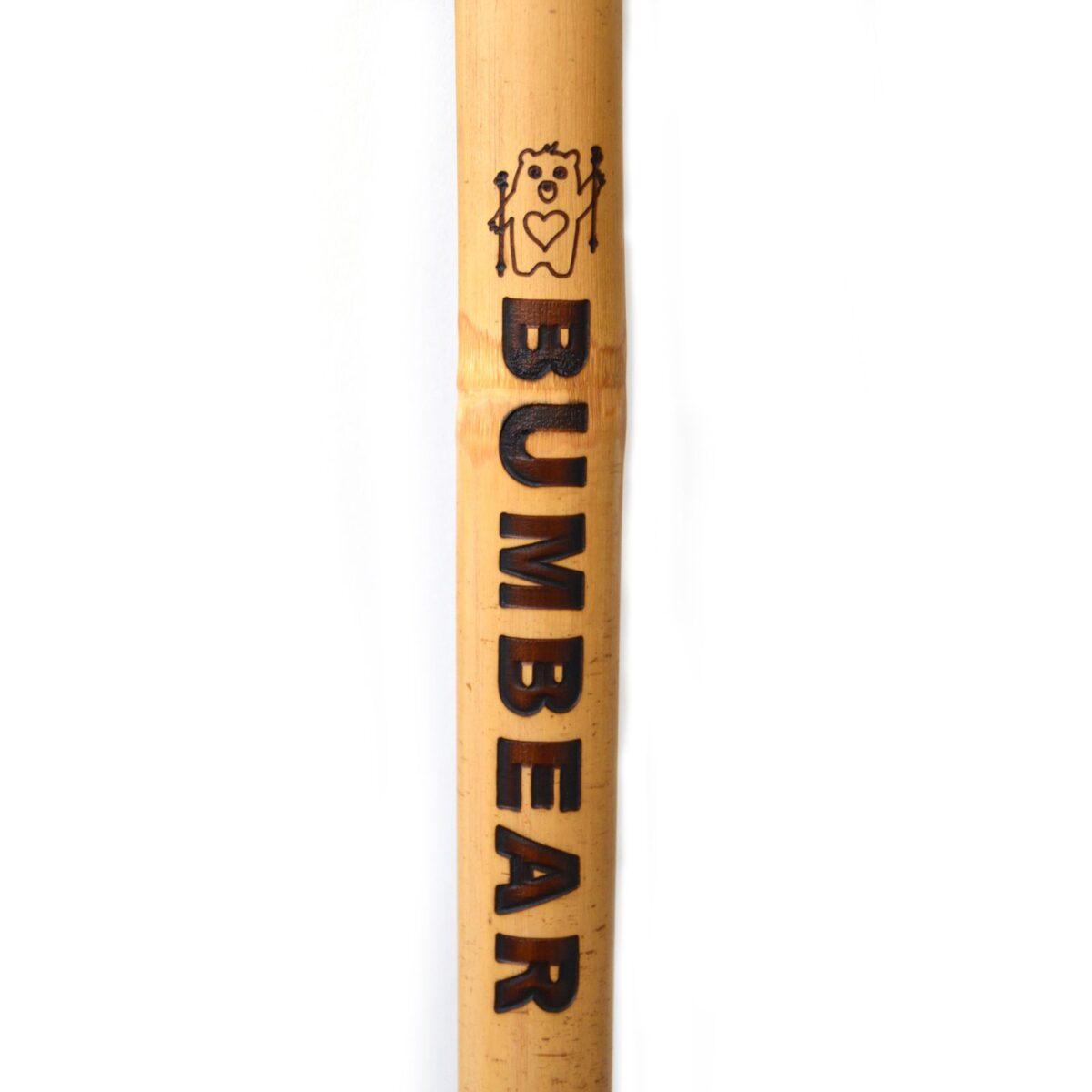 Bamboo Shaft Engraving BUMBEAR